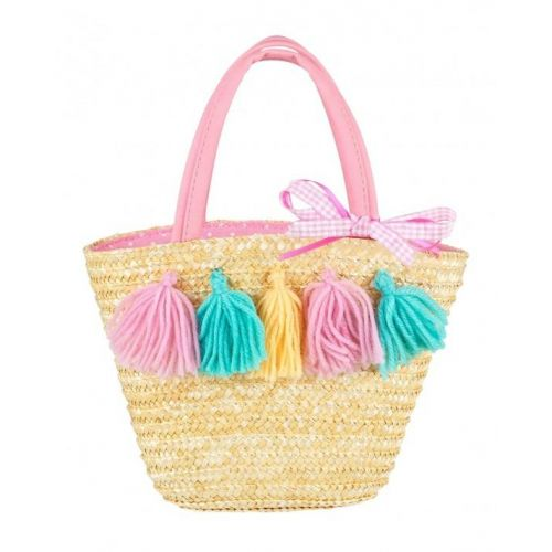 Bag Delphine Pompoms Multicolour