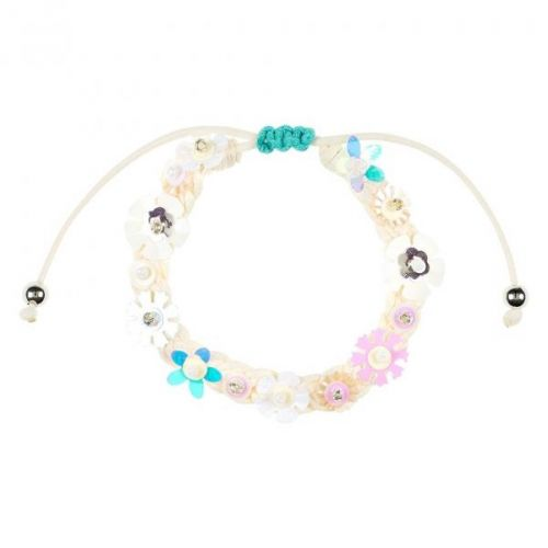 Bracelet Flory Off White - Flowers