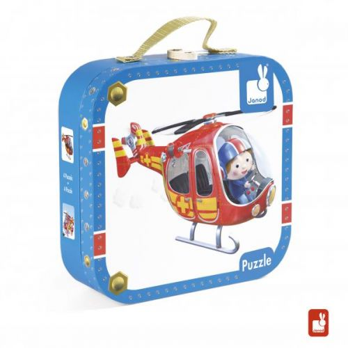 Fleurus Puzzelkoffer - Pierre's Helicopter