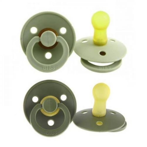 Fopspeen 0-6 Mnd 2-pack Sage/hunter Green