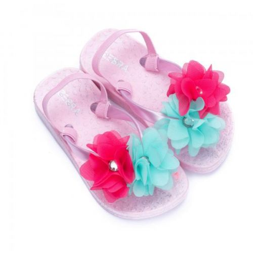 Girls Slippers Mini Flower