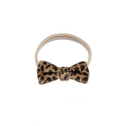 Haarband Bow Leopard