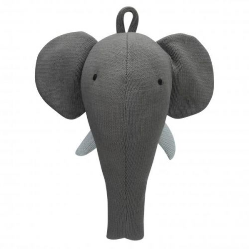 Knitted Elephant Grey