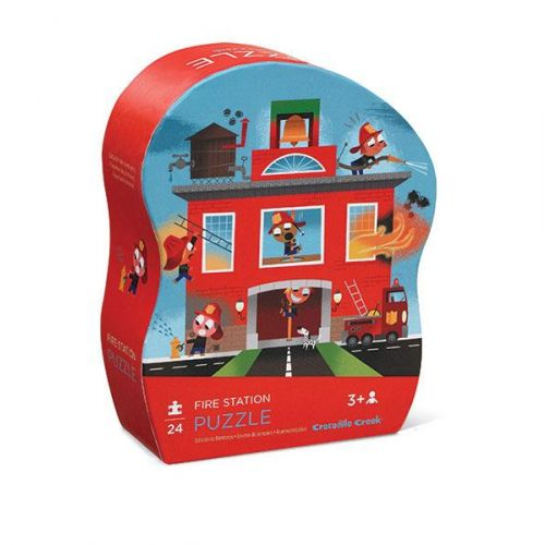 Mini Shaped Puzzle/fire Station