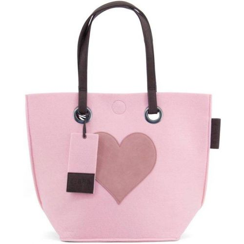 Natural Bag Vilt - Met Hart