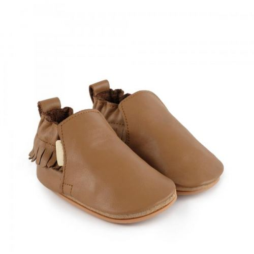 Slofje Bao Cognac Leather