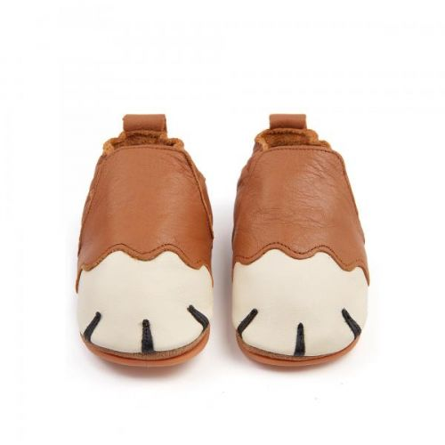 Slofje Paws Cognac Leather