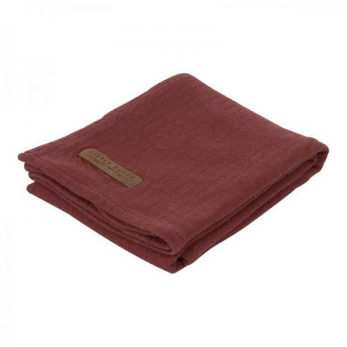 Swaddle Doek 120 X 120 - Pure Indian Red