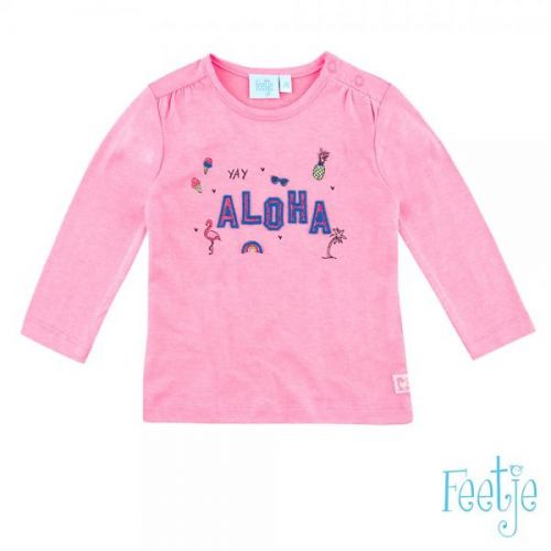 T-shirt L/m Aloha Mini Exotic