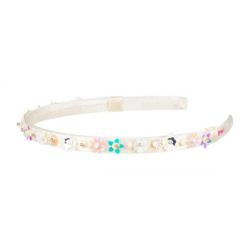 Tiara Milly Flowers Off White